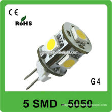 G4 12V led boat light 5 SMD 5050