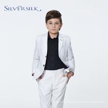 Blazers Haute Couture Party Enfants Costumes Garçon Blanc
