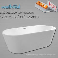 Fabricantes de banheira autônoma de banheira real autônoma de flange estreita
