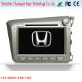 Lecteur DVD de voiture avec navigation GPS pour Honda New Civic