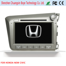 Reproductor de DVD de coche con navegación GPS para Honda Civic nuevo
