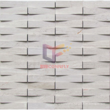 Concavo Convex Surface Marble Mosaic (CFS892)