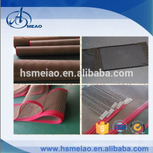 Various types Teflon coated fiberglass mesh conveyor belt