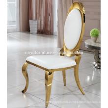 Casamento louis cadeira de aço inoxidável em saled XYN2801