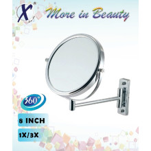 8 Inch Double Sides Wall Mirror Compacts (J833B)