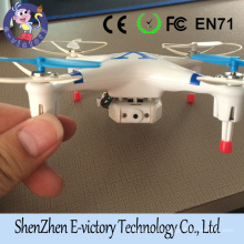 CX-30W 2.4GHz 4CH 6-Axis Gyro 360-degree WiFi Real Time Video RC Quadcopter UFO FPV with Transmitter 0.3MP HD Camera