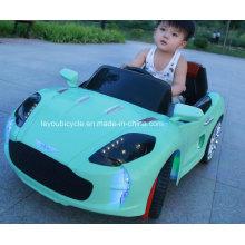 Luz carros de brinquedo verde para crianças