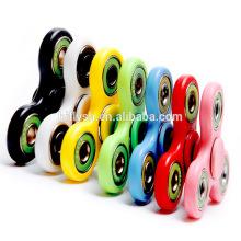 Mais novo Lançamento Stress Fidget Brinquedos De Metal EDC Fidget Spinner, Cobre Puro ou Alumínio Finger Spinner brinquedo