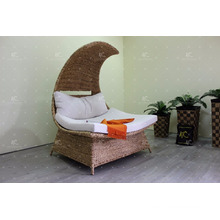 Natural Water Hyacinth Wicker Relaxing Chair Furniture