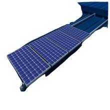 home installation solar panel kits of aluminum