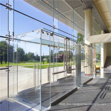 Frameless Structural Glass Curtain Wall Facade Aluminum Mullionless Spider Sealant Silicone Double Glazed System