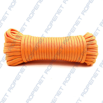 Warna tersuai 4mm Jalinan nilon Paracord 550lbs
