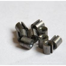 Peça personalizada do desgaste do carboneto de tungstênio