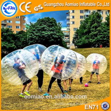 Best quality tpu bubble soccer bumper ball, bubble ball for football