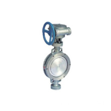 Stainless Steel Double eksentrik Butterfly Valve