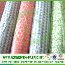 Mattress Cover Fabic Material 100%PP Non Woven Printed Fabric