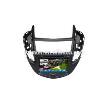 HOT! Voiture dvd avec lien miroir / DVR / TPMS / OBD2 pour 8 pouces écran tactile complet 4.4 Android système Chevrolet TRAX