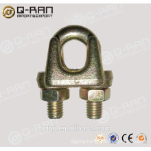 Commercial type zinc plated A type wire rope clamp
