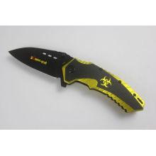 Cuchillo plegable del acero inoxidable (SE-1008)
