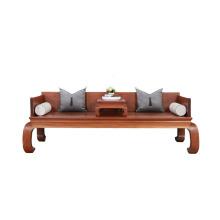 Cama Arhat de madeira estilo chinês Sofá-cama de madeira