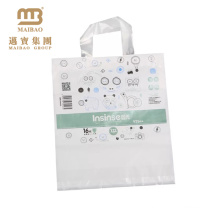 Hot!!customized white recycling cloth carrying bag