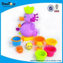 Seahorse kids bath set shower toy for kids bath toys