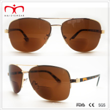Heiße Verkäufe Bifocal Objektiv-Metall-Sonnenbrille (60060)