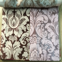 Luxus 100 % Polyester Jacquard Blackout Vorhang Stoff Malaysia
