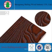 Bloco de madeira da melamina da cor da grão para a decoração