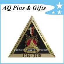Moedas comemorativas do ouro da promoção do costume (coin-094)
