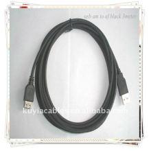 BRAND NEW PREMIUM USB 2.0 AM à usb AF USB Câble d'extension noir Câble de 3 mètres