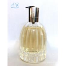 Garrafa de perfume de vidro transparente curvada Ad-P445 do pulverizador 60ml 25ml