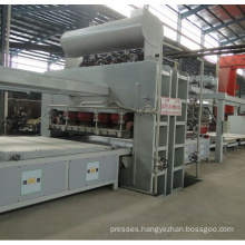 Automatic Short Cycle Hot Press Veneer Production Line