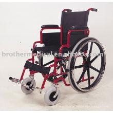 Multifunções Aço Cadeira de rodas BME 4619 Dobrável