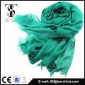 2015 El nuevo diseño con la nueva tela mezcló la bufanda suave material de la sensación