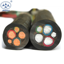 Wholesale Custom Specification 3 core 4mm 10mm rubber flexible cable wire cable