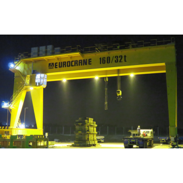 160 / 32t Load Gantry Crane