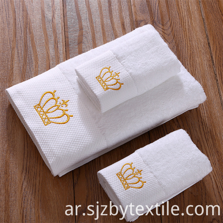 Luxury Embroidered Turkish Towel