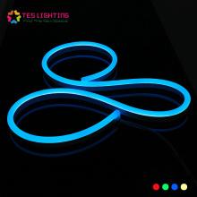 Tira de LED de silicona RGB LED de neón resistente al agua