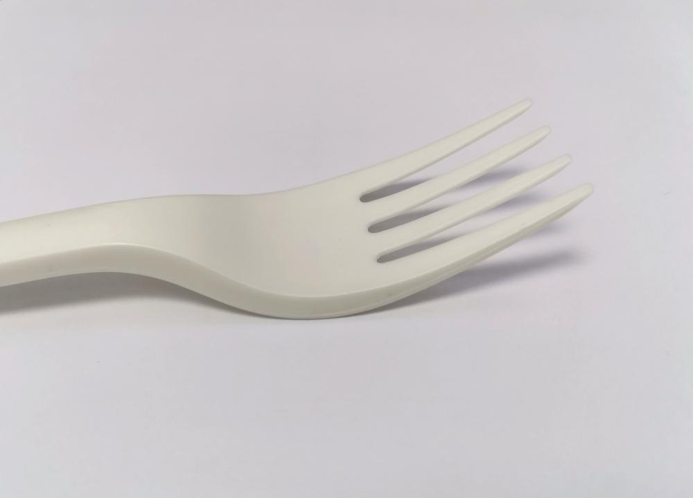 Cornstarch Pasta 100% Biodegradable Cutlery Fork