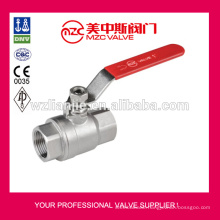 DIN3202-M3 2PC Stainless Steel Ball Valve Screw Ends PN63