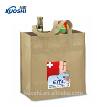 pictures printing non woven shopping tote bag