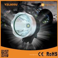Yzl805u USB rechargeable Xm-Lt6 LED lumière frontale LED avant pour vélo Light