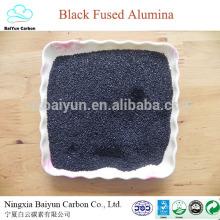 precio de óxido de aluminio / corindón para pulir óxido de aluminio negro Al2O3 85%