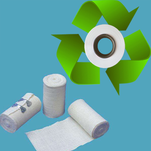 Degradable spandex for medical bandages