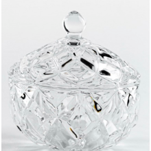 Clear  Glass Candy Jar