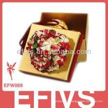 2013 caixa elegante favor do casamento da flor feito em China