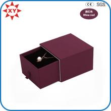 Custom Luxury Wine Red Necklace Gift Box
