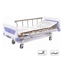 Movable Medical Full-Fowler Hospital Bed with ABS Board