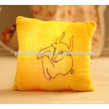 China wholesale LED constellation pillow plush LED pillow twelve Zodiac pillow cushion